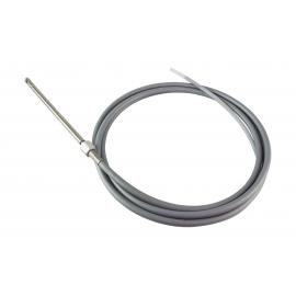 Cable de dirección INOX 4,90 m.