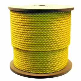 POLY-BRAID-32 COLOR 16MM. YELLOW (85 M)