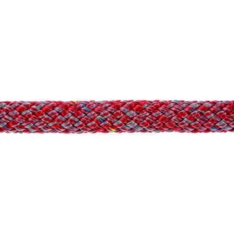POLY-BRAID-32 10 mm Gris/Rojo (110m)