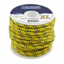 TRIM-DINGHY XL 5MM. (100 M) - YELLOW