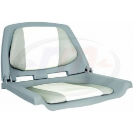 ASIENTO PLEGABLE FISHERMAN GRIS/CARBON