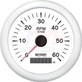 CUENTAVUELTAS 1.0/10.0 - 0/6000 rpm BLAN