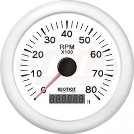 CUENTAVUELTAS 1.0/10.0 - 0/8000 rpm BLAN