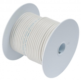 CABLE ELECTRICO MARINO BLANCO 18AWG