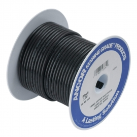 CABLE BATERIA NEGRO 7,5 MTS.