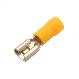 VINYL-INSULATED FEMALE DISCONNECTOR YEL