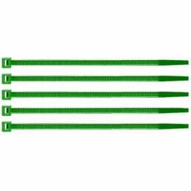 ABRAZADERA NYLON 250x4,8 VERDE (PACK DE 100)