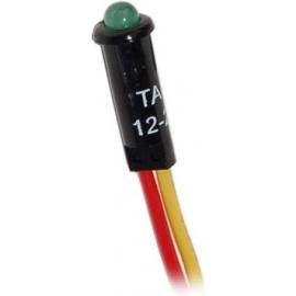 INDICADOR LED 12/24V VERDE