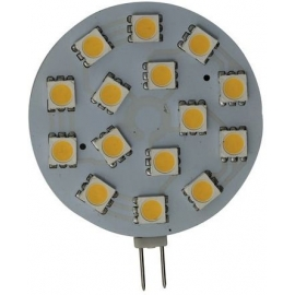 BOMBILLA G4 HORIZONTAL 15LED 3W 12/30V
