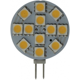 BOMBILLA G4 VERTICAL 12LED 2,2W 12/30V