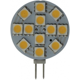 BOMBILLA G4 HORIZONTAL 12 LED 2,2W 12/30