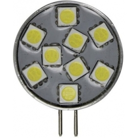 BOMBILLA G4 VERTICAL 9LED 1,8W 10/30V