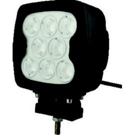FOCO LED DE CUBIERTA 80W 9-60V Negro
