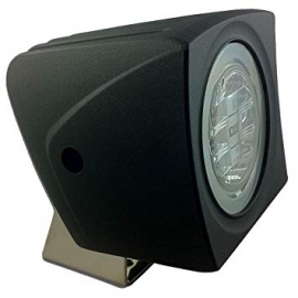 FLOOD LIGHT, BLACK, 5K WHITE/RED