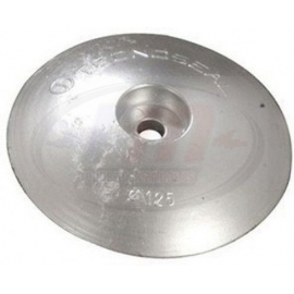SINGLE ANODE IN ZINC ALLOY FOR RUDDER