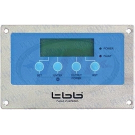 LCD PANEL W/LED INDICATOR