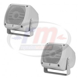SUB-COMPACT BOX SPEAKERS WHITE