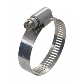 EMBOSSED WORM GEAR HOSE CLAMP 120-140 (P