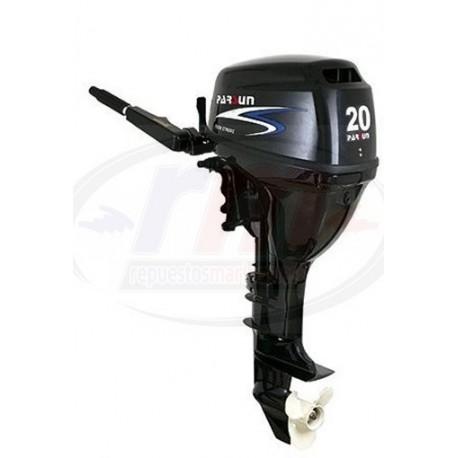 MOTOR PARSUN 4T - 20 H.P. MANUAL/LARGO/MANDO POP