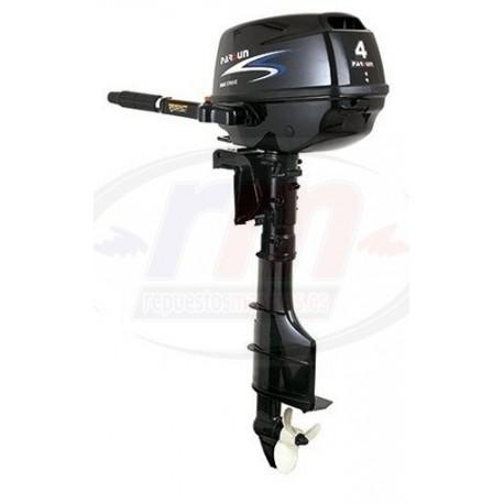 MOTOR PARSUN 4T - 4 H.P. MANUAL/LARGO