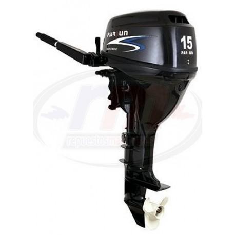 MOTOR PARSUN 4T-15 H.P. ELECTRICO/CORTO/MANDO POP