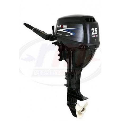 MOTOR PARSUN 4T-25 H.P. ELECTRICO/CORTO/MANDO POP