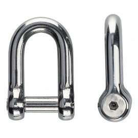 ANCHOR SHACKLE AISI-316 6MM (PACK 10)