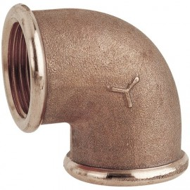 CODO F/F BRONCE 4""