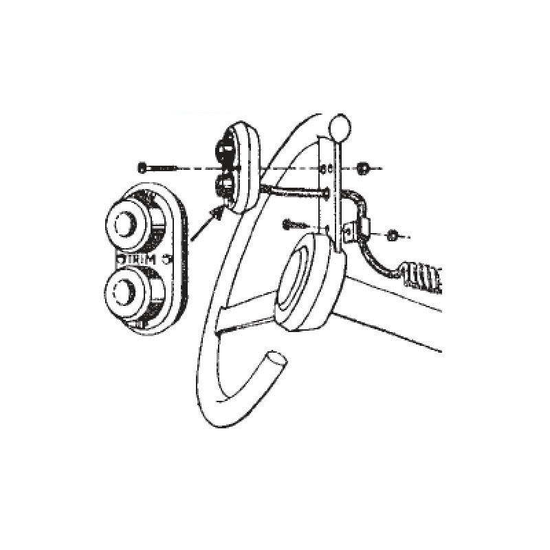 steering wheel trim control