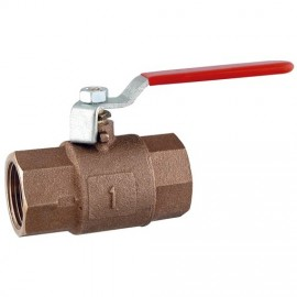 FULL WAY BALL VALVE BRONZE 1""