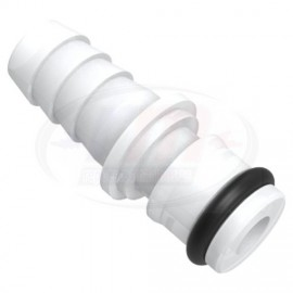 """CONECTOR c/O-ring 5/8"""" x 1/2"""" Barb"""