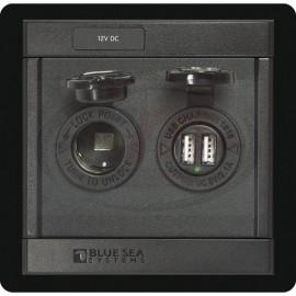 PANEL 360 DC 12V USB CARGADOR