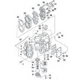 2 TIEMPOS E40X 40XMH E40(XMH/XW/XWT)